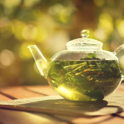wässriger Auszug, Tee
